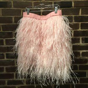 FiFi Furry Fringe Skirt